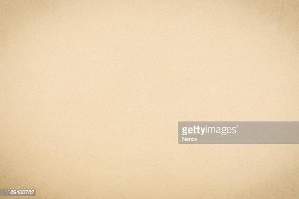 vintage paper texture background - クリーム色 ストックフォトと画像