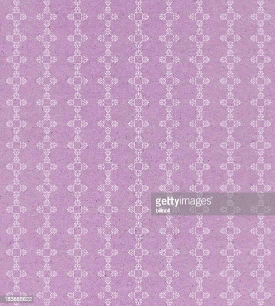 Papier vintage avec ornement rose