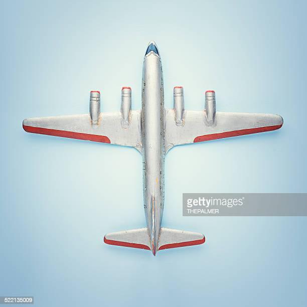 Vintage passenger airplane