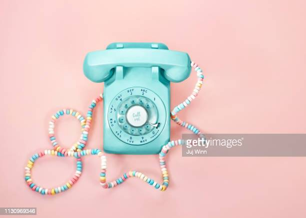 Vintage phone with Candy Cord