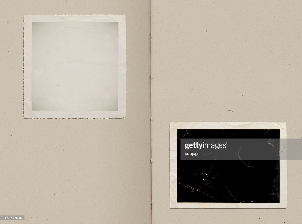 Vintage photo album : Stock Photo