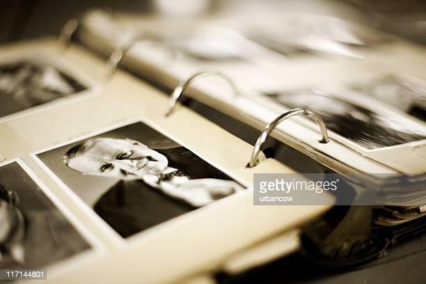 Vintage photograph album.