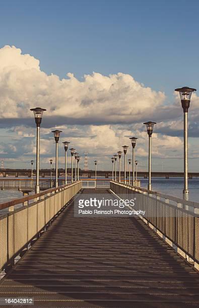 vintage pier.- - posadas stock pictures, royalty-free photos & images