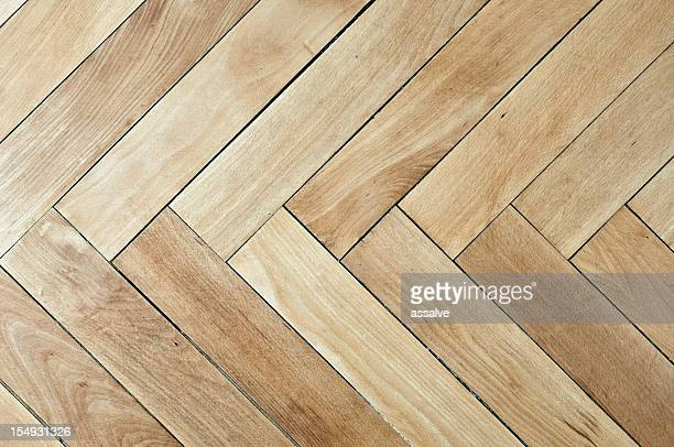 vintage plain wooden parquet floor - wooden floor stock pictures, royalty-free photos & images