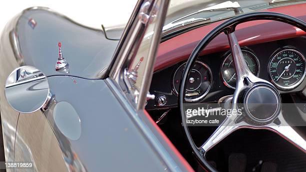 vintage porsche 356 speedster - porsche 356 stock photos and pictures