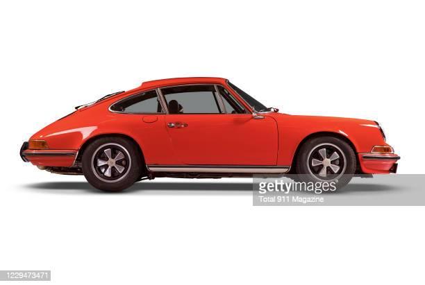 Vintage Porsche Index 2.4s sports car, taken on February 5, 2020.