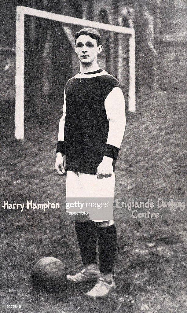 Harry Hampton - Aston Villa : News Photo