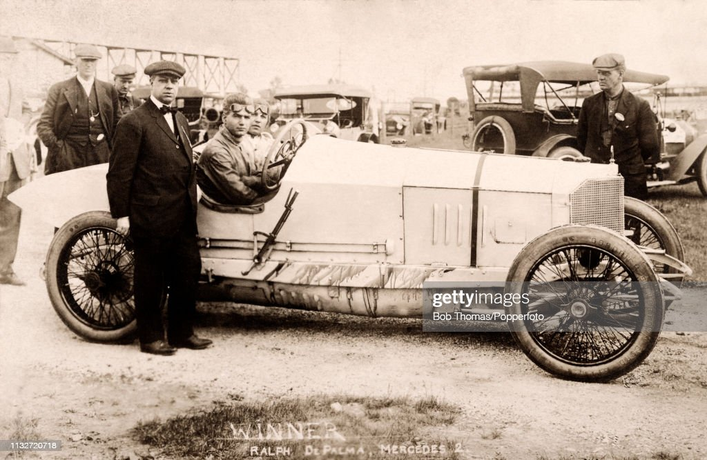 A Vintage Postcard Featuring Italian Race Car Driver Ralph Depalma News Photo Getty Images