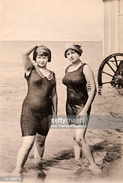 1930-Girls ready to dive   Girls swimming, Photo posters