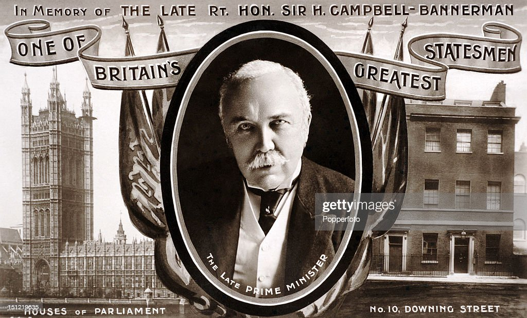 Henry Campbell-Bannerman  -  Prime Minister : News Photo