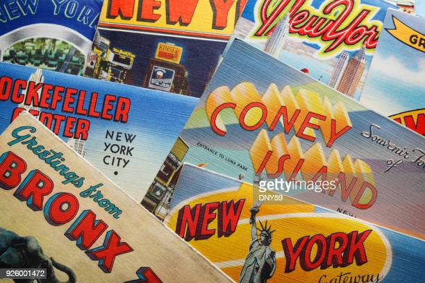 Vintage Postcards Of New York City