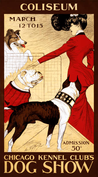 1902 Chicago Dog Show Poster