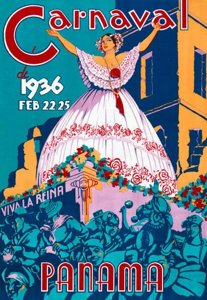 1936 Panama Carnaval Poster