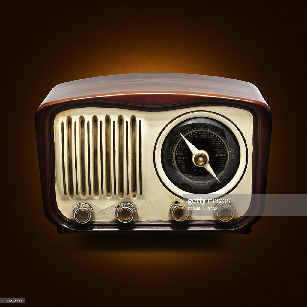 Vintage radio : Stock Photo