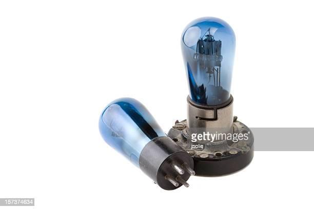 Vintage radio vacuum tubes
