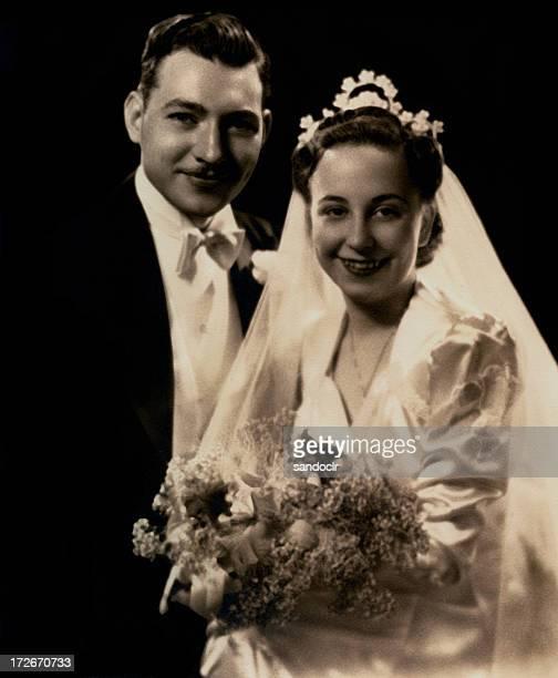 Vintage. Real wedding