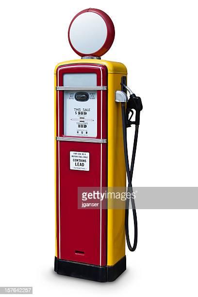 Rouge Vintage Pompe à gaz