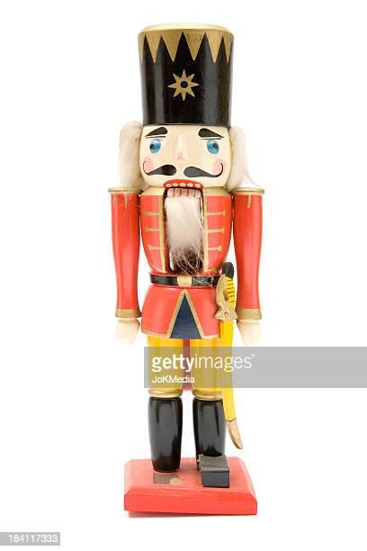 Soldat rouge Vintage Casse-noisette