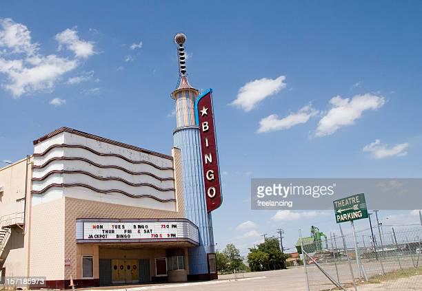 Vintage retro movie theater & bingo hall