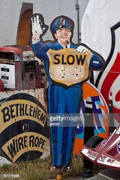 Vintage Retro Signs