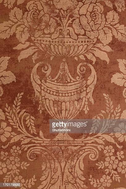 papier peint rétro vintage - cachemire motif photos et images de collection