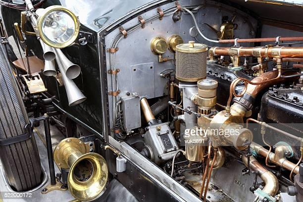 Vintage Rolls Royce engine