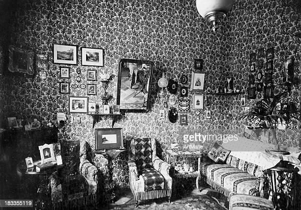 Vintage room interior