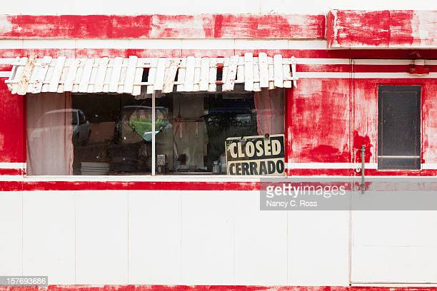 Vintage Route 66 Diner, Out of Business, Closed