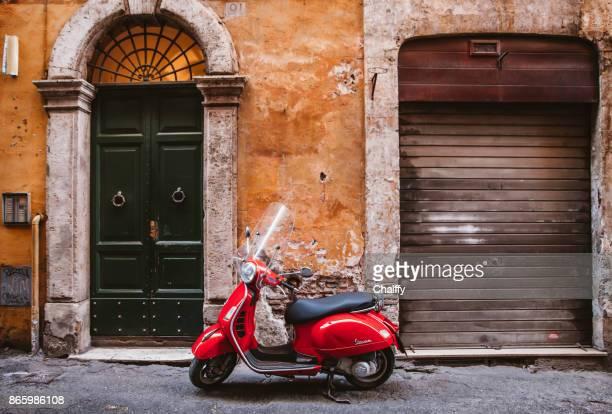 Oldtimer Roller in Roma, Italien