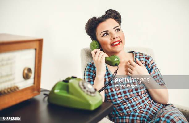 Vintage Secretary on the Phone