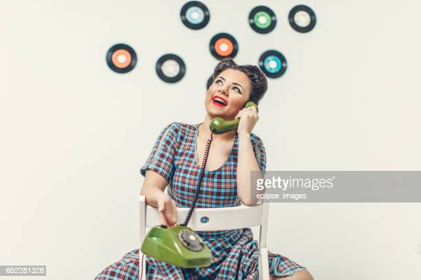 Vintage Secretary on the Phone