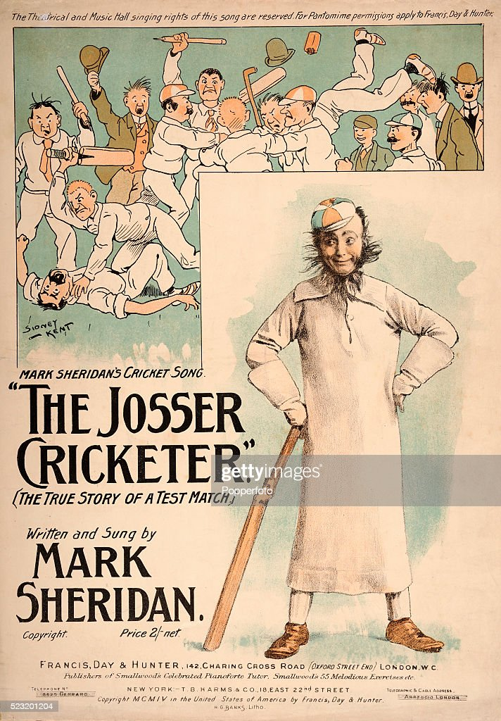 A vintage sheet music cover for a song entitled The Cricket