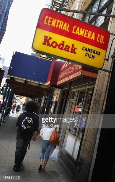 kodak hangs cameras advertising film sign vintage