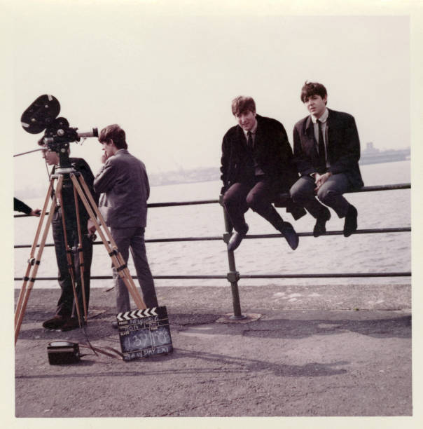 UNS: New To The Archive: On Set With The Beatles Filming A 1963 Documentary