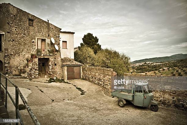 vintage southern italy village (calabria region) - calabria stock pictures, royalty-free photos & images