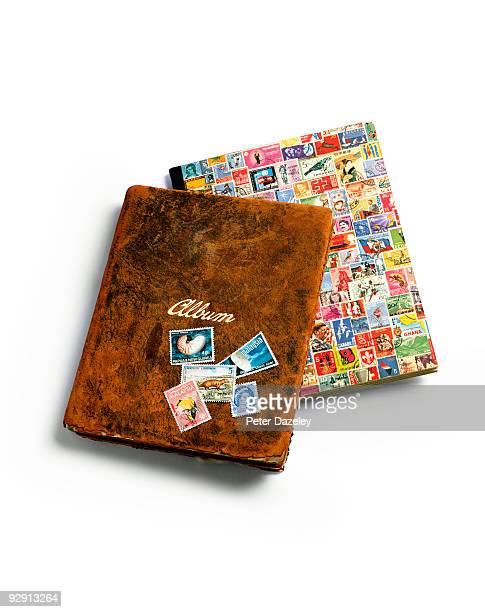 Vintage stamp album