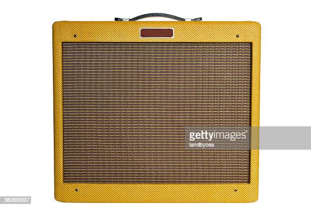 Vintage style guitar amplifier
