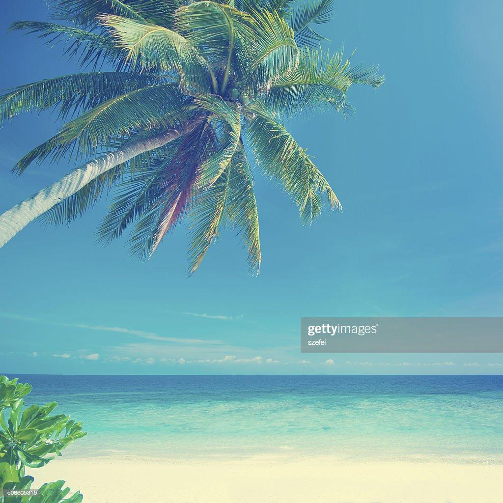Estilo Vintage verano al mar : Foto de stock