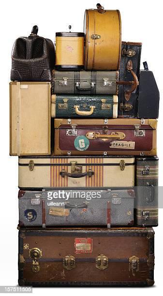 Des valises Vintage
