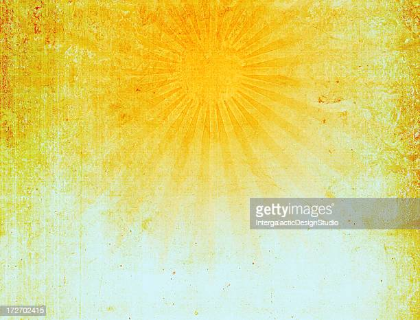 Vintage Sun Ray Background XXXL