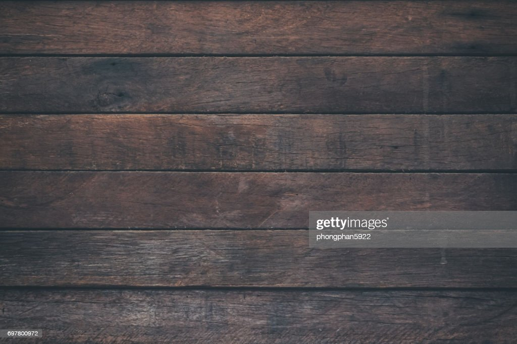 table top texture. Vintage Surface Wood Table And Rustic Grain Texture Background. Close Up Of Dark Wall Top T