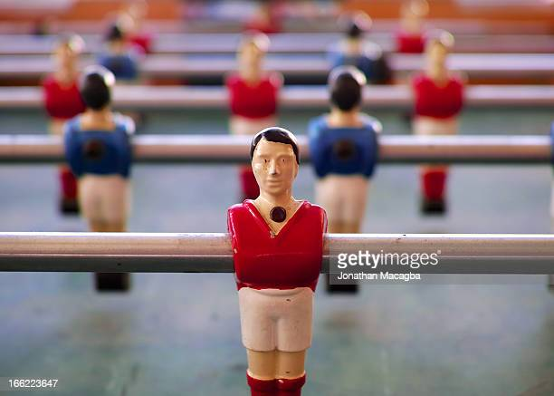 Vintage Table Football Players