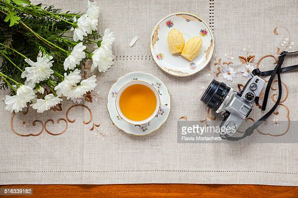 Vintage tea and photography