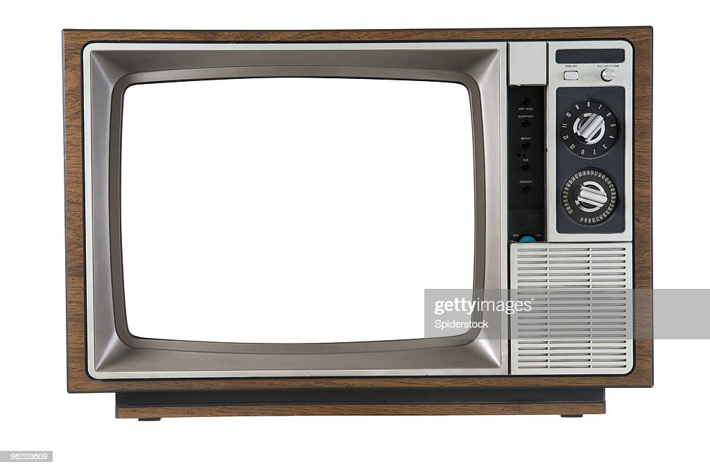 Vintage Television : Stock Photo