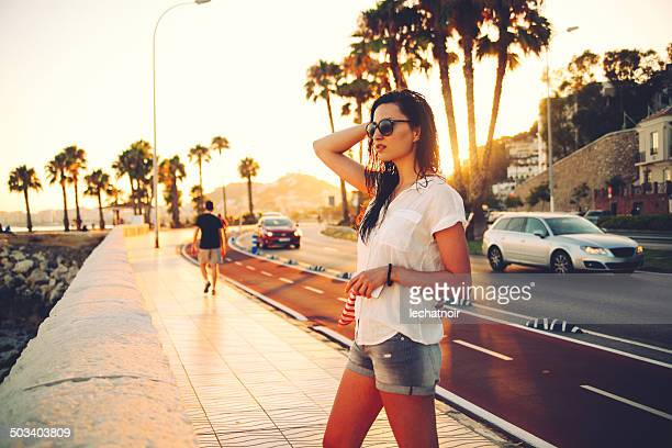 vintage toned summertime fashion