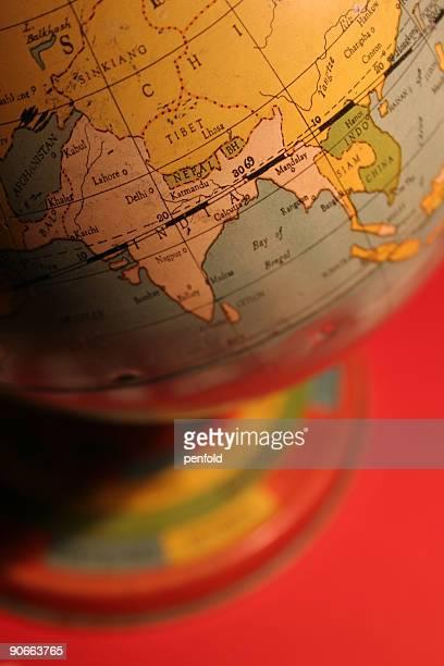 vintage toy globe