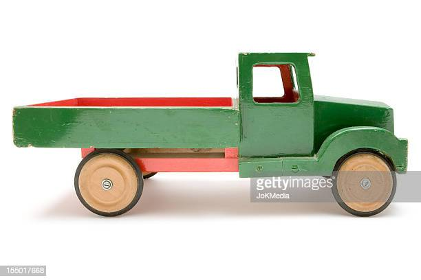 Wooden Toy Truck Stock Pictures