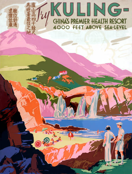 Kuling Health Resort Poster