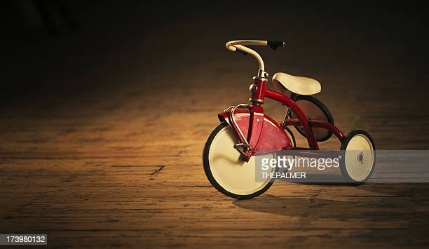 vintage tricycle - tricycle stock pictures, royalty-free photos & images