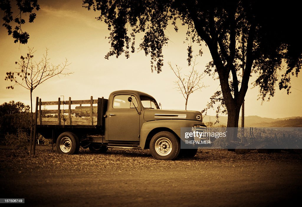 vintage de : Foto de stock
